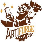 The Artiforge Logo